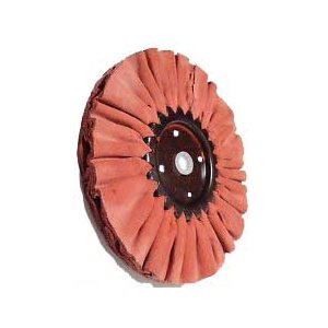 red buffing wheel