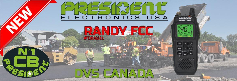 Nouveau radio President Randy - DVS Canada